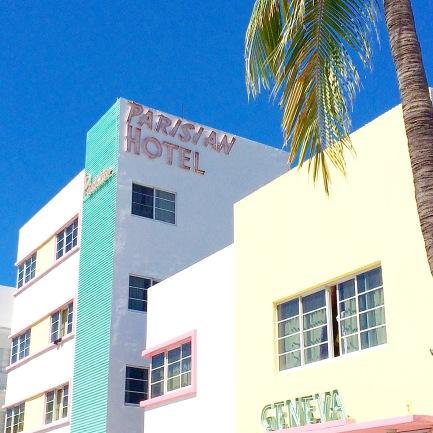 Art deco Miami Beach